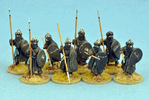 Black Guard, Legends of the Crusading Age