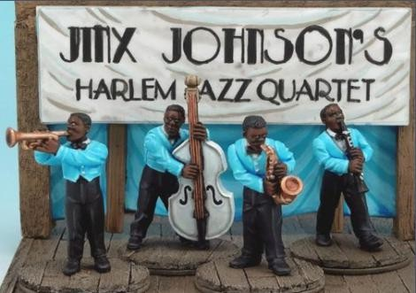 Jinx Johnson's Harlem Jazz Quartet