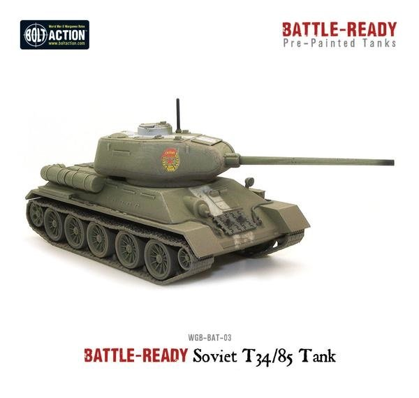 T-34/85 Battle Ready Tank