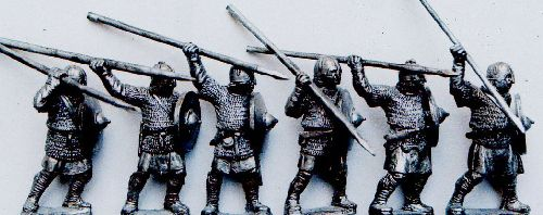 """Saxon""/Dark Age Armoured Spearmen"