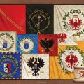 Photo of Brandenburgian banners (FLAG-BRA)