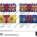 Photo of British Highland Division Infantry Flags (Sheet 2 of 4) (BRC019)
