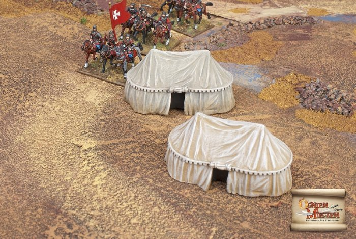 Eastern style military tents big