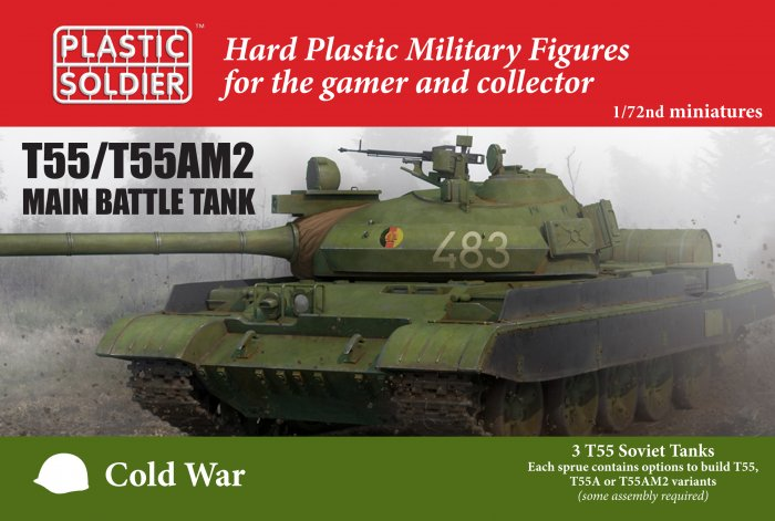 T55/ T55AM2 MTB 1/72nd scale