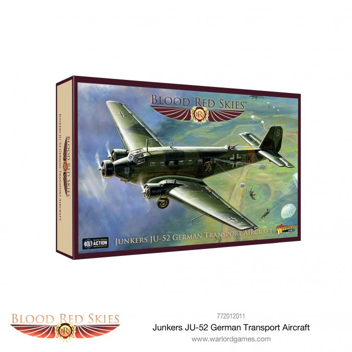 Junkers JU-52 German Transport Aircraft