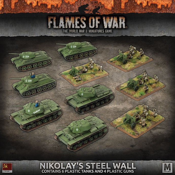 Nikolay's Steel Wall (Plastic)