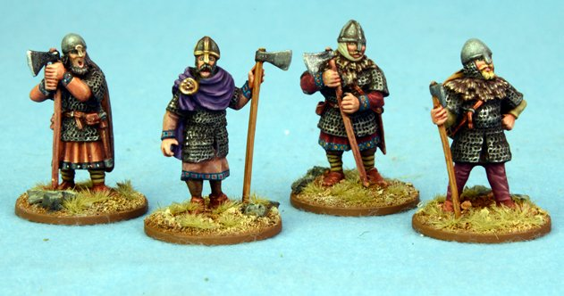Anglo Danish Hearthguard Axemen STANDING 1 point