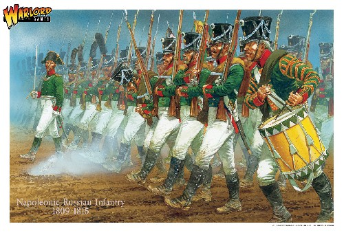 Early War Russian Napoleonic Infantry 1809