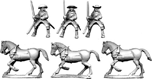 Cavalry in Buff Coat with Carbine