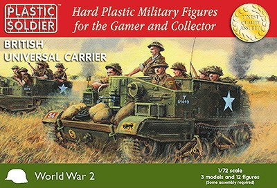 WW2 Easy Assembly 1/72nd British Universal Carrier