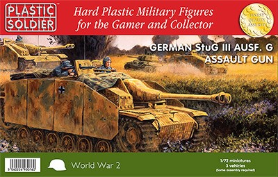 1/72nd German Stug III Ausf G Assault Gun.