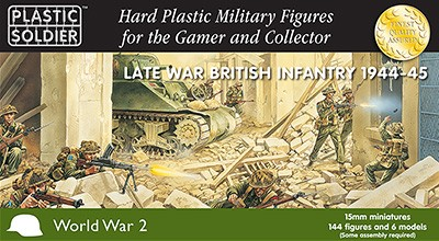 15mm Late War British Infantry 1944-45