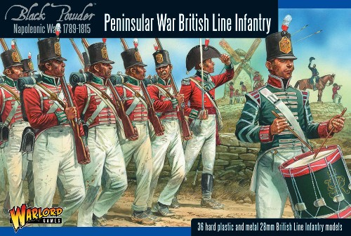 Napoleonic British Line Infantry (Peninsular War)