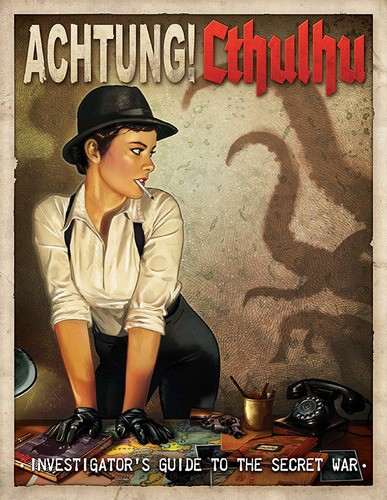 Achtung! Cthulhu - Investigator's Guide to the Secret War