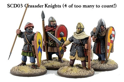 C&C Crusader Knights on Foot
