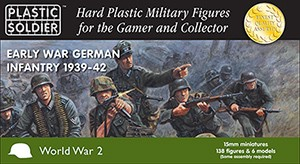 15mm Early War German Infantry 1939-42