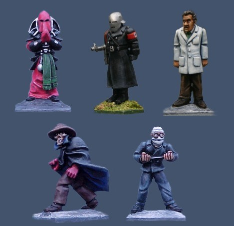 Photo of Weird Villains 1 (PWM 01)