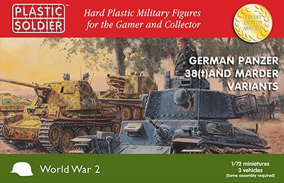 1/72nd Panzer 38T and Marder options