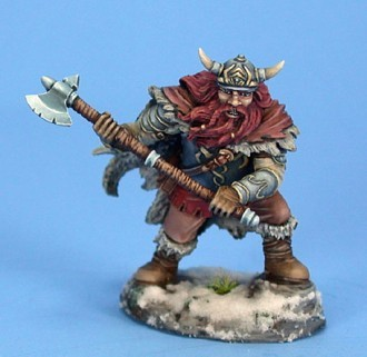 Male Dwarven Fighter with Great Axe