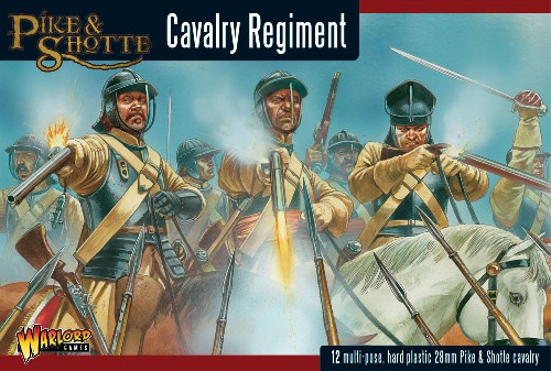 Pike and Shotte Cavalry -  Warlord Games