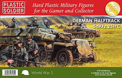 1/72nd German SdKfz 251/C Halftrack