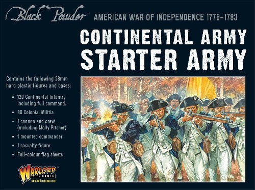 AWI Continental Army starter set