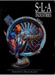 SLA Industries RPG Book