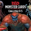 Photo of D&D Monster Cards: Challenge 0-5 (C62820000)