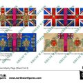 Photo of British Highland Division Infantry Flags (Sheet 3 of 4) (BRC020 )