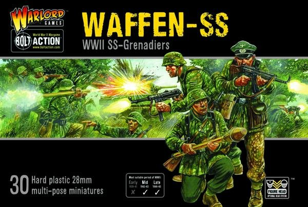 Waffen SS: Plastic Box Set -  Warlord Games