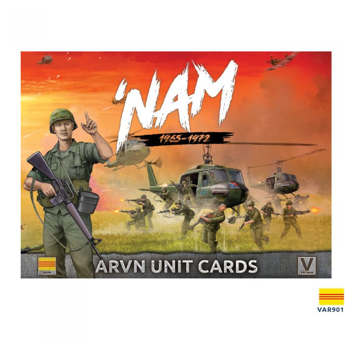 ARVN Forces in Vietnam - Unit Cards