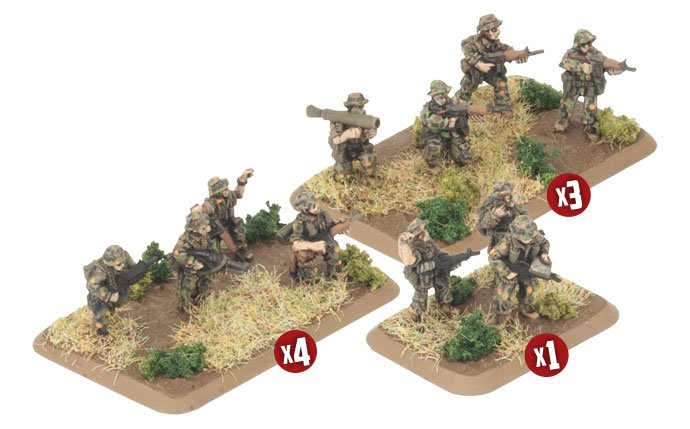 Australian Mechanised Platoon