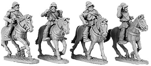 Greek Cavalry with Boiotian Helmets