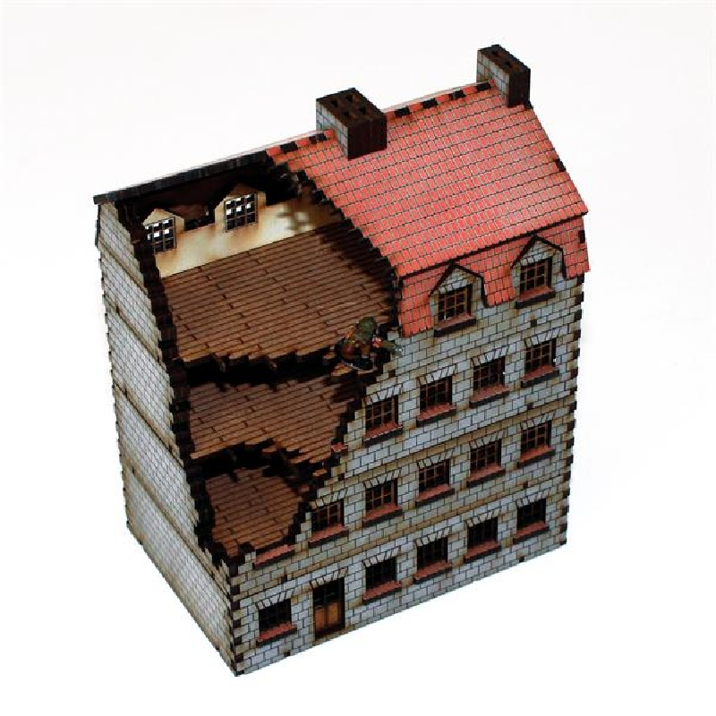 15mm Damaged Bank/Apartments