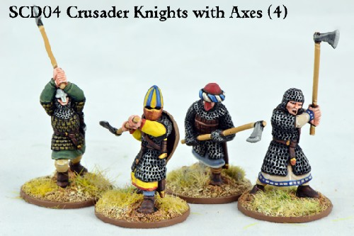 C&C Crusader Knights with Double Handed Wpns
