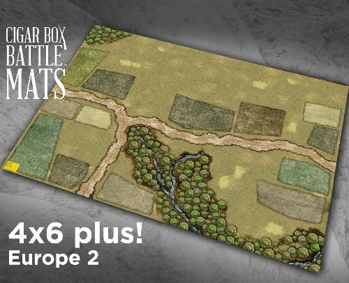 EUROPE 2 GAMING BATTLE MAT - 28mm