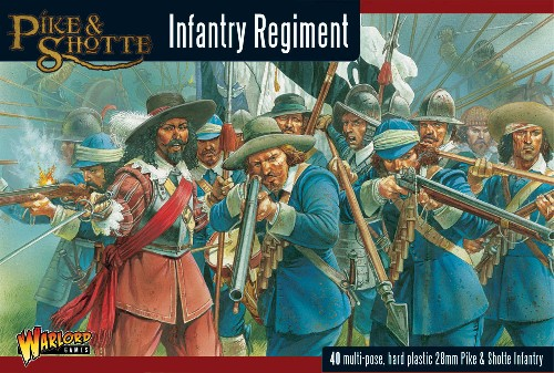Pike and Shotte Infantry Regiment -  Warlord Games