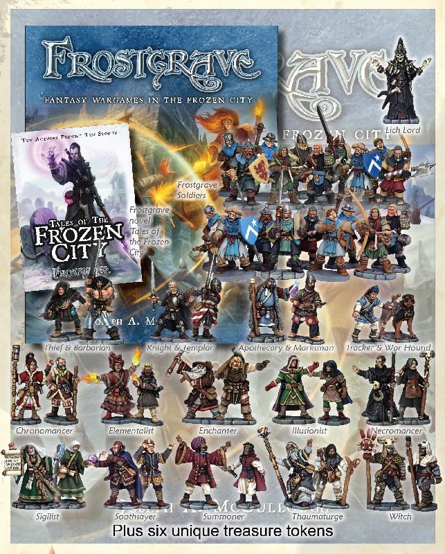 Frostgrave wargame & miniatures Img7434