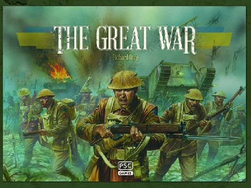 Commands and Colours WW1 Boardgame: The Great War