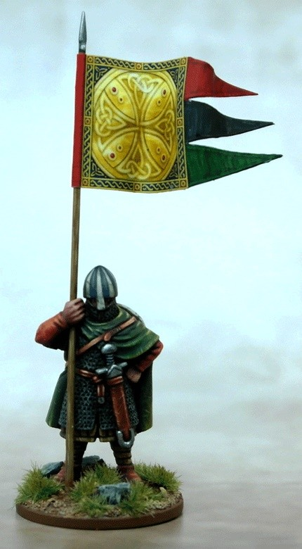 Anglo Danish Warbanner Bearer