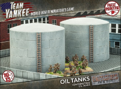 Oil Tanks (x2)