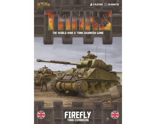 BRITISH SHERMAN FIREFLY TANK EXPANSION