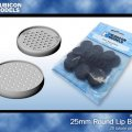 Photo of 25mm Round Bases (Pack of 25) (RU-801001)