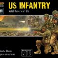 Photo of US Infantry  - Plastic WWII American GI's (402013012)
