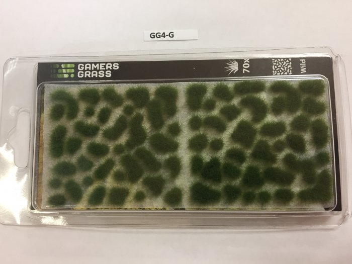 Gamer's Grass Green 4mm Tufts