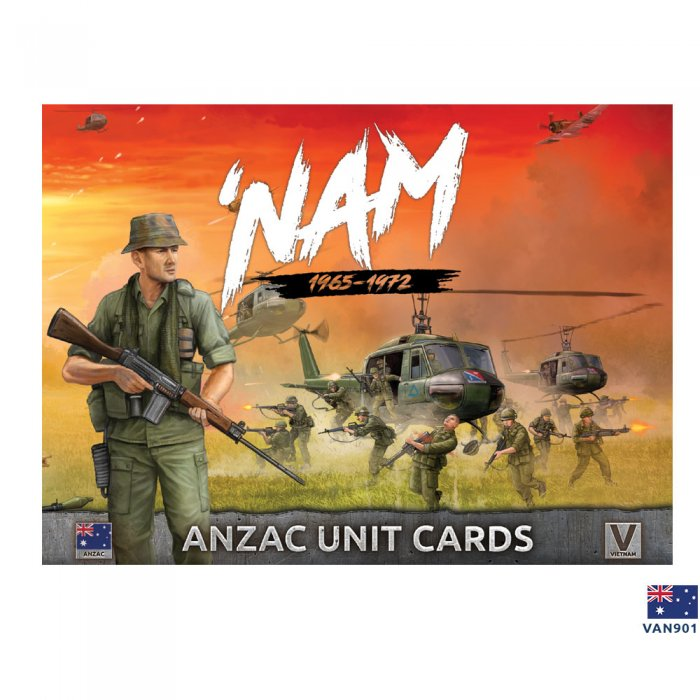 ANZAC Forces in Vietnam - Unit Cards
