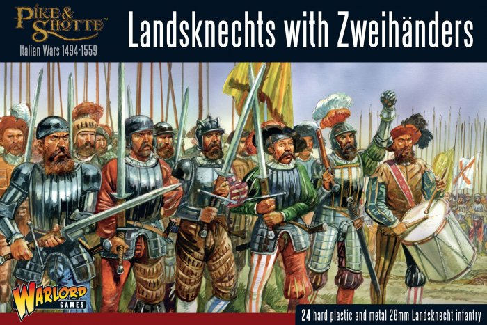 Landsknechts with Zweihanders -  Warlord Games