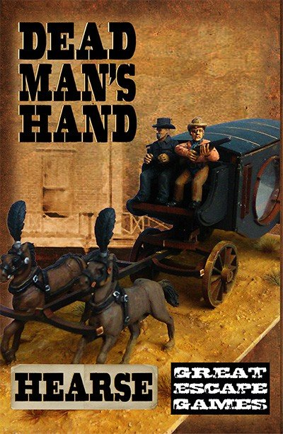 Dead Man's Hand Hearse Set