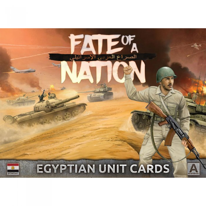 Unit Cards – Egyptian Forces in the Middle East