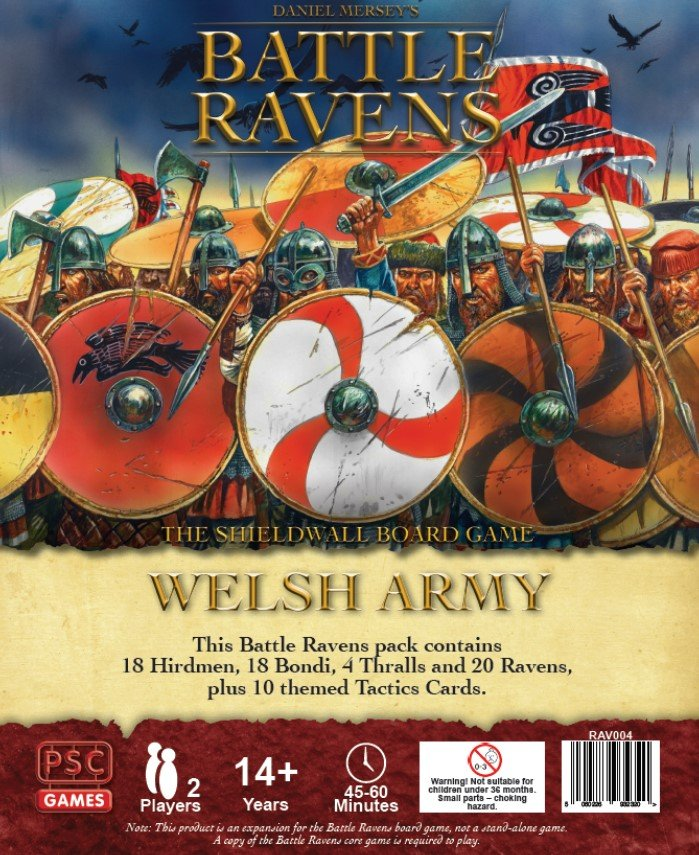 Battle Ravens Welsh Army